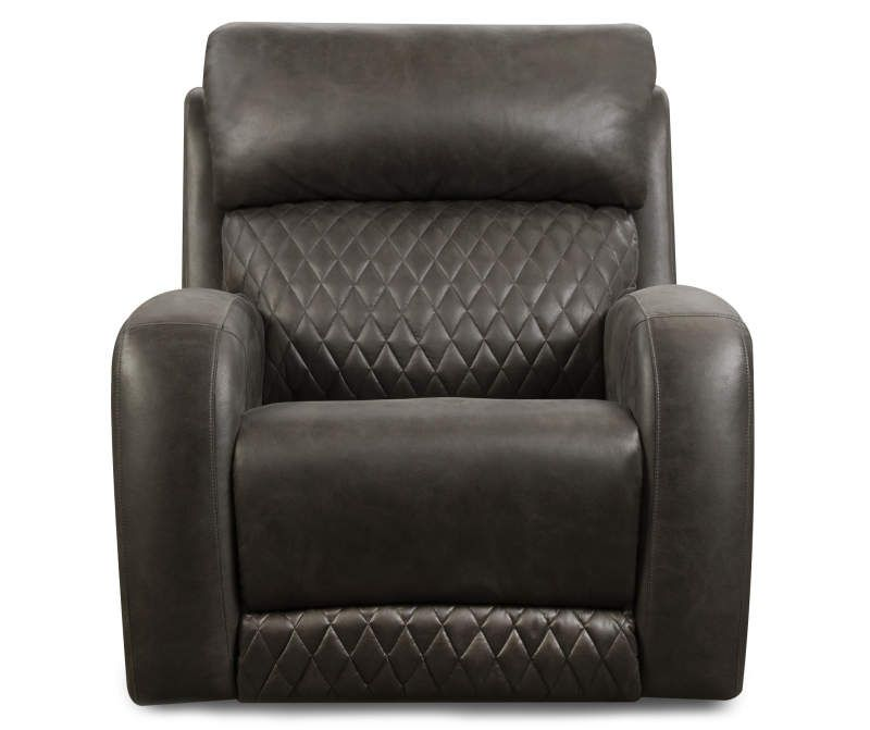 Passion Gray Quilted Rocker Recliner Big Lots In 2020 Rocker