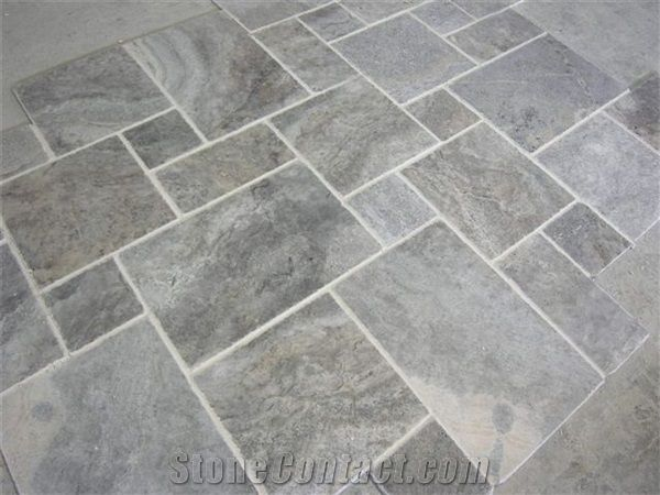 Grey Travertine Floor Tile Shapeyourmindscom