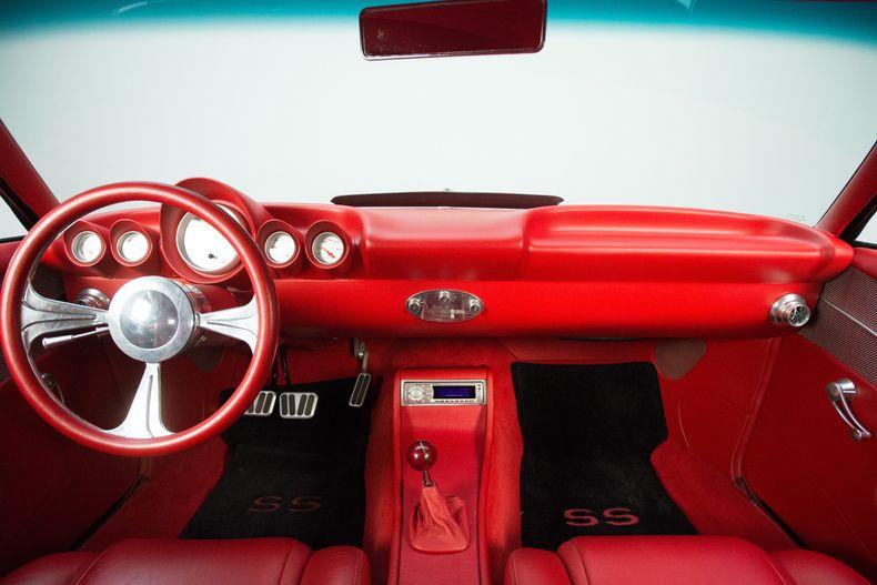 1969 Black Chevrolet Camaro Pro Touring 454 V8 Chevrolet Camaro Camaro Interior Chevrolet