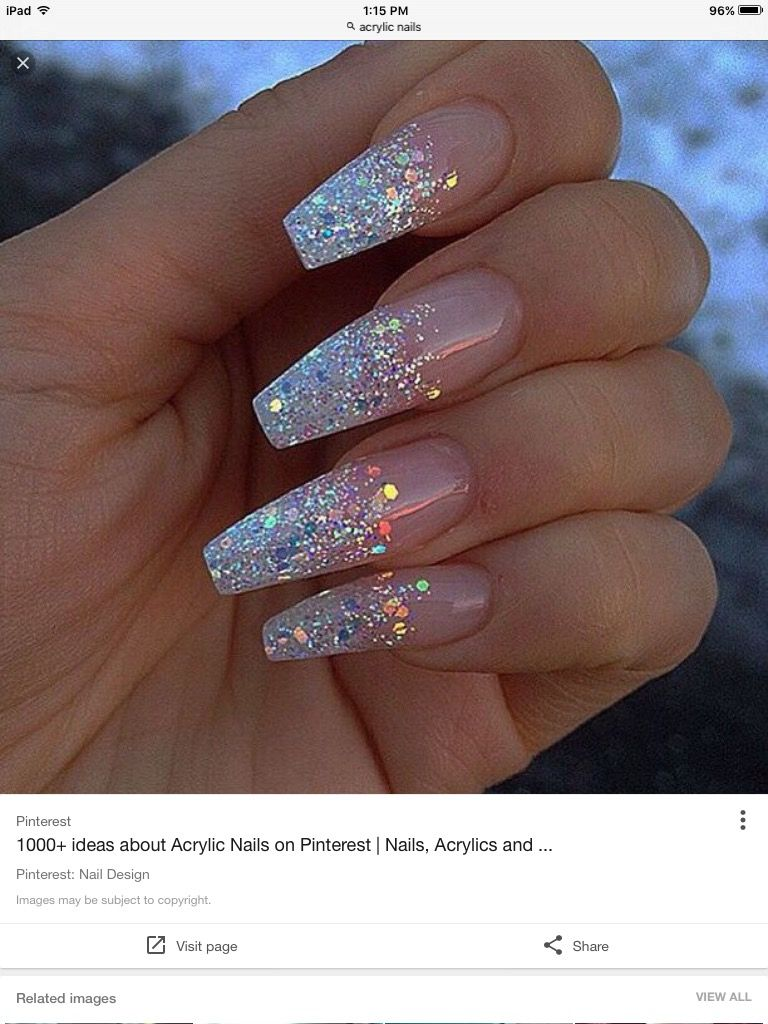 Pin von vendella auf acrylic nails | Pinterest | Nageldesign