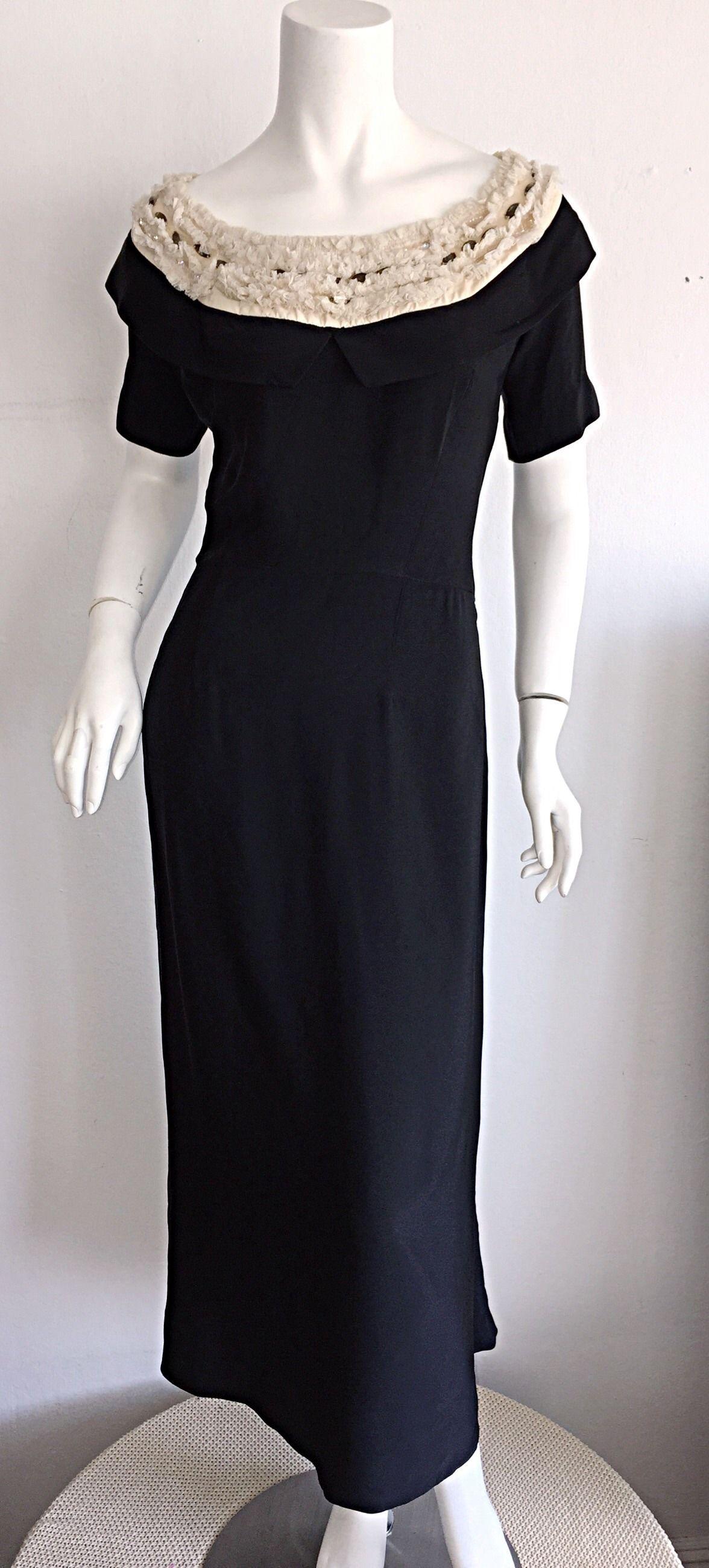Beautiful pattullo jo copeland s black dress w ivory lace