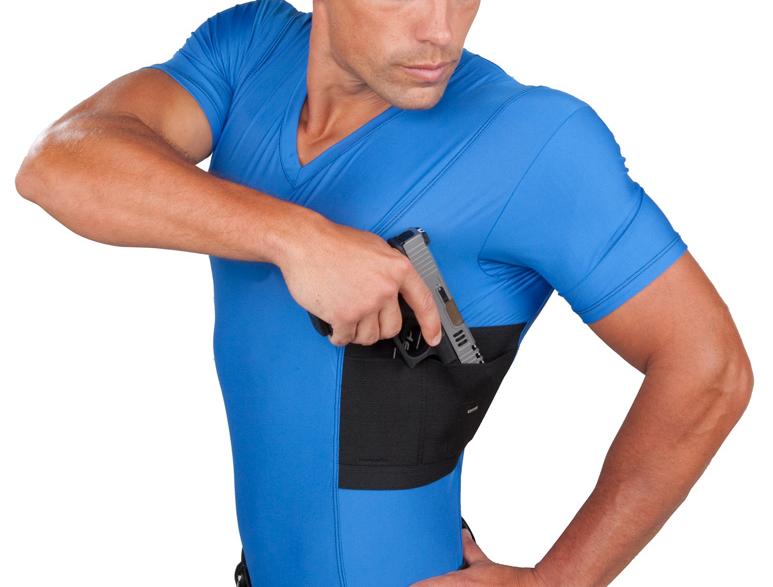 4449c18137ca2 Men s Concealment V-Neck Single Shirt UTUC