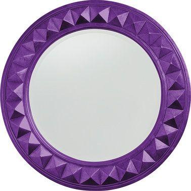 Look at this #zulilyfind! Royal Purple Fantasia Wall Mirror #zulilyfinds