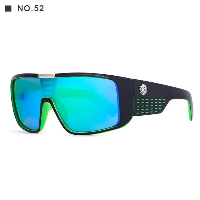 Kdeam 7 Colors Men Polarized Large Oversize Sunglasses Outdoor Sport Glasses New