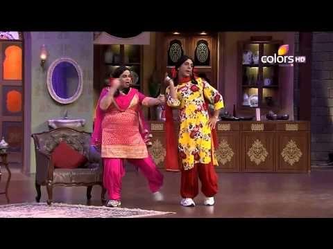 Gutthi and Palak sing for Javed Jaffrey | Kapil Sharma Video Website