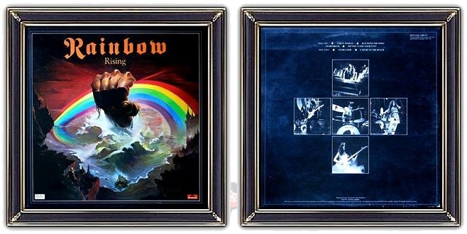 ♫ Rainbow - Rising (1976) -   Album Art: Ken Kelly (painting), Fin Costello (photography) https://www.selected4u.net/caa/rainbow/rising/play.html