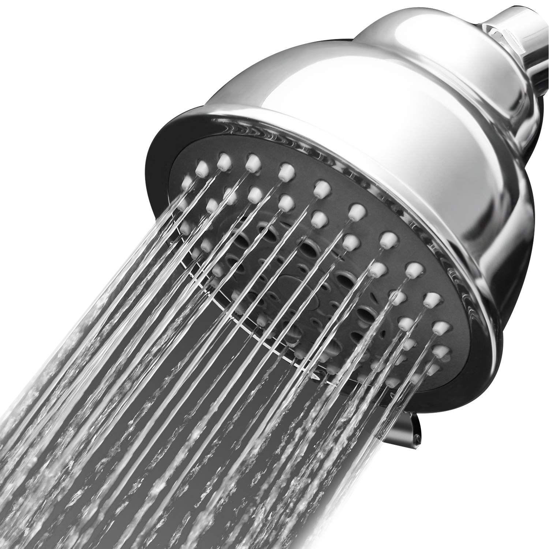 Rainfall High Pressure Shower Head Luxury Spa Fixed High Flow
