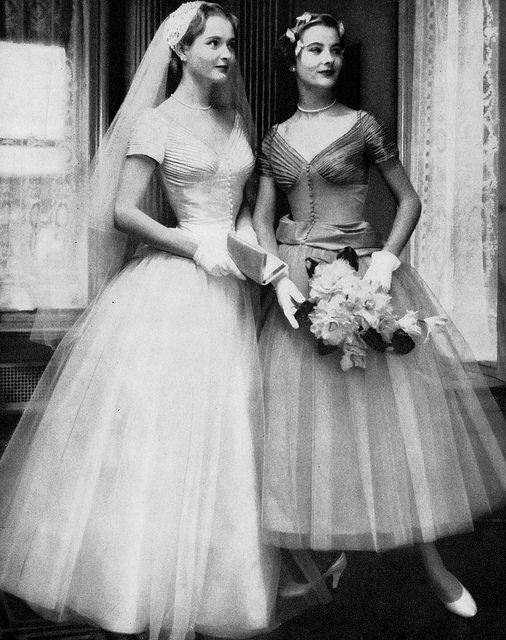 Modern Bride magazine, Summer 1953 | Vintage hochzeitskleid, Vintage ...