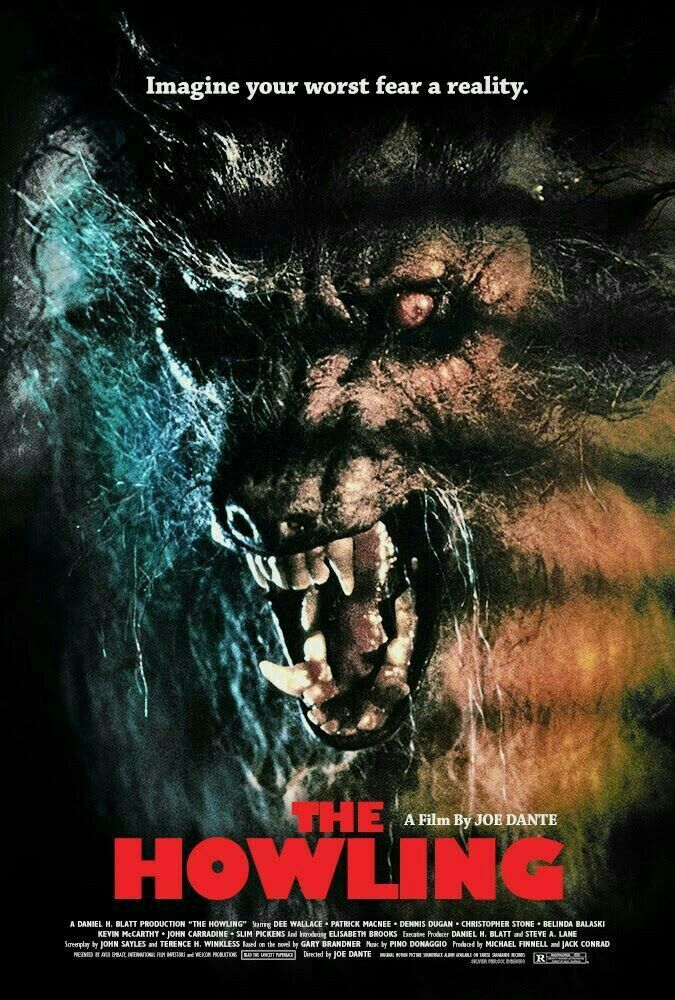 THE HOWLING Classic horror movies