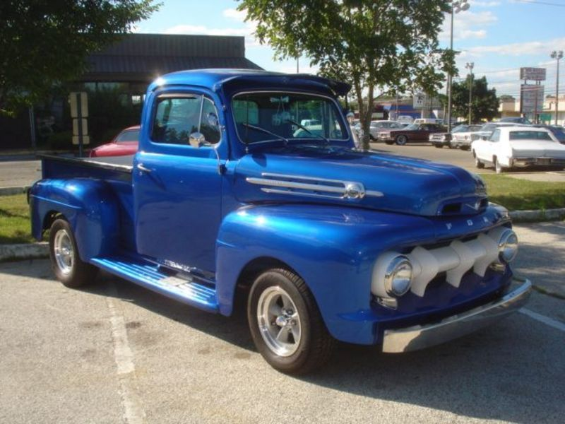 1952 FORD F100 | Ford Pickups | Pinterest | Ford, Ford trucks and ...