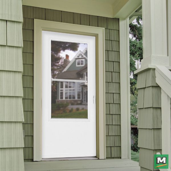 Great For High Traffic Areas This 32 X 80 Larson Evanston Multi Vent Storm And Screen Door Lets You Enjoy The Breeze When And Screen Door Doors Lake House