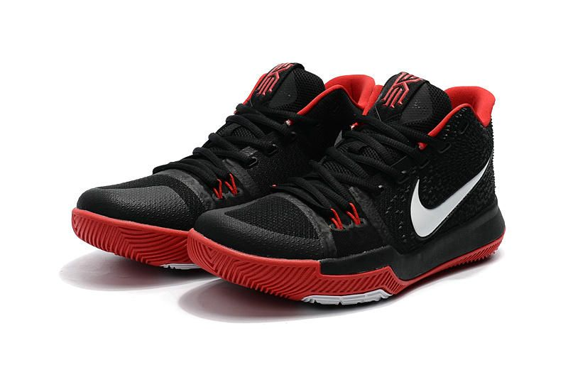 d0bdb4ca1ac8 Cheap Nike Kyrie 3 Black White Red