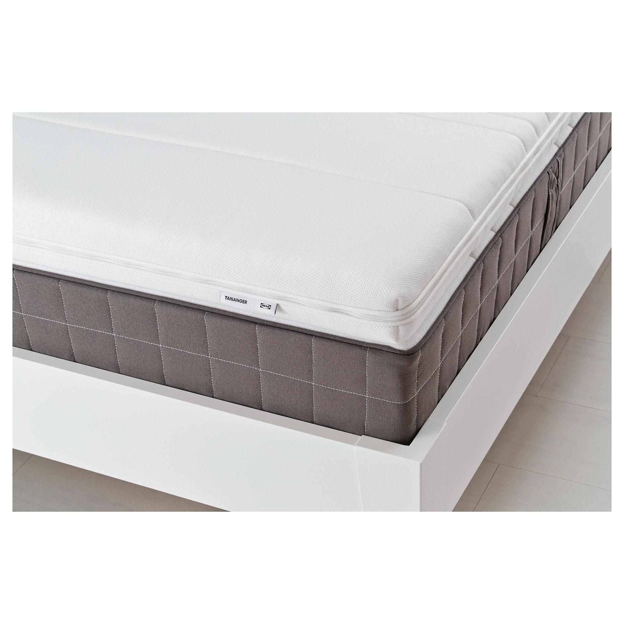 Ikea Tananger White Mattress Topper In 2020 Mattress Ikea
