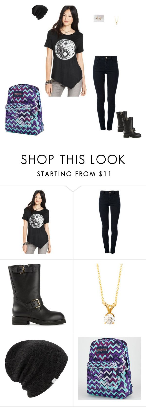 """""""Day 28 @ College"""" by maddieshu on Polyvore featuring STELLA McCARTNEY, Marni, Diamonds for a Cure, Coal and JanSport"""