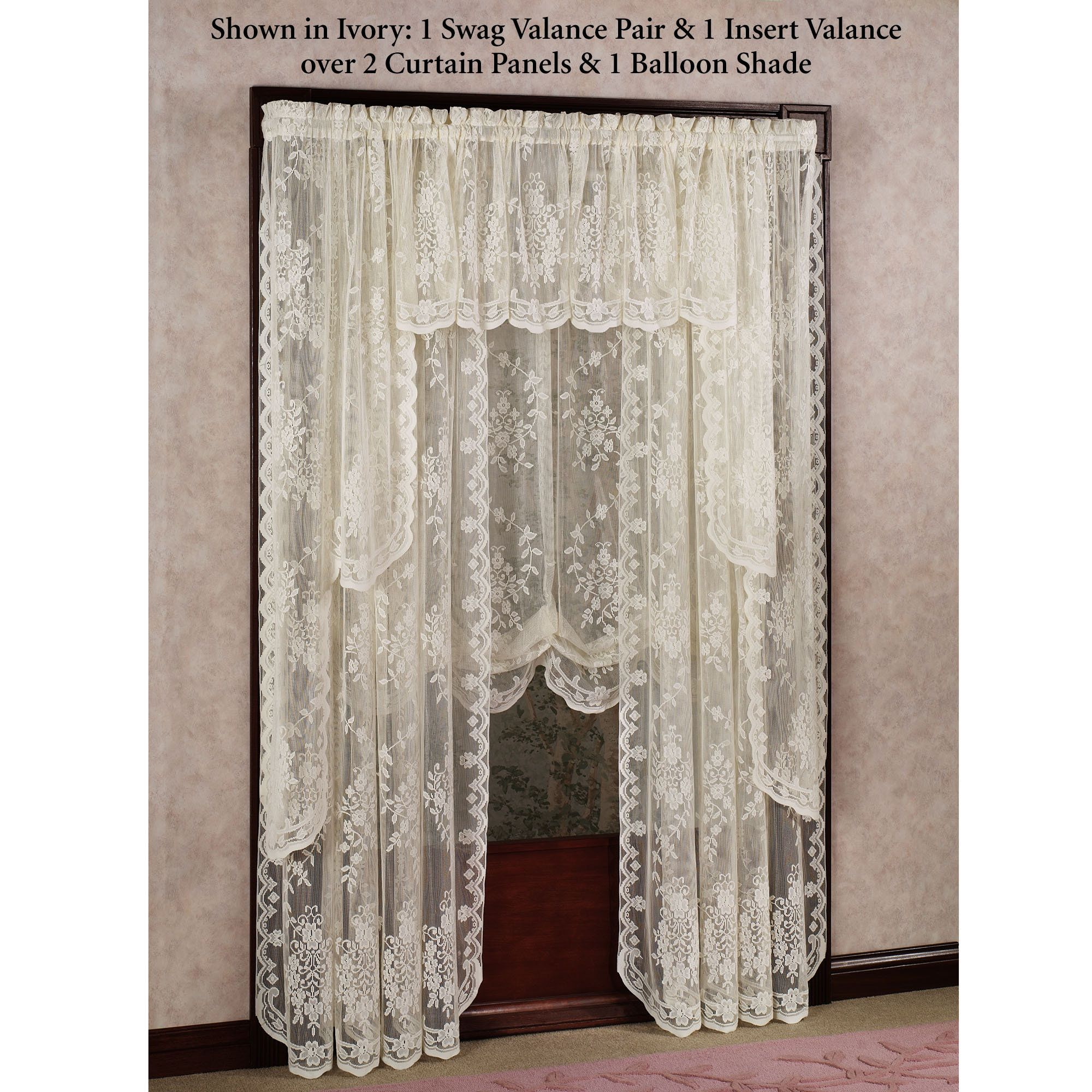 for windows brown patterned treatments window treatment decofurnish curtain arched