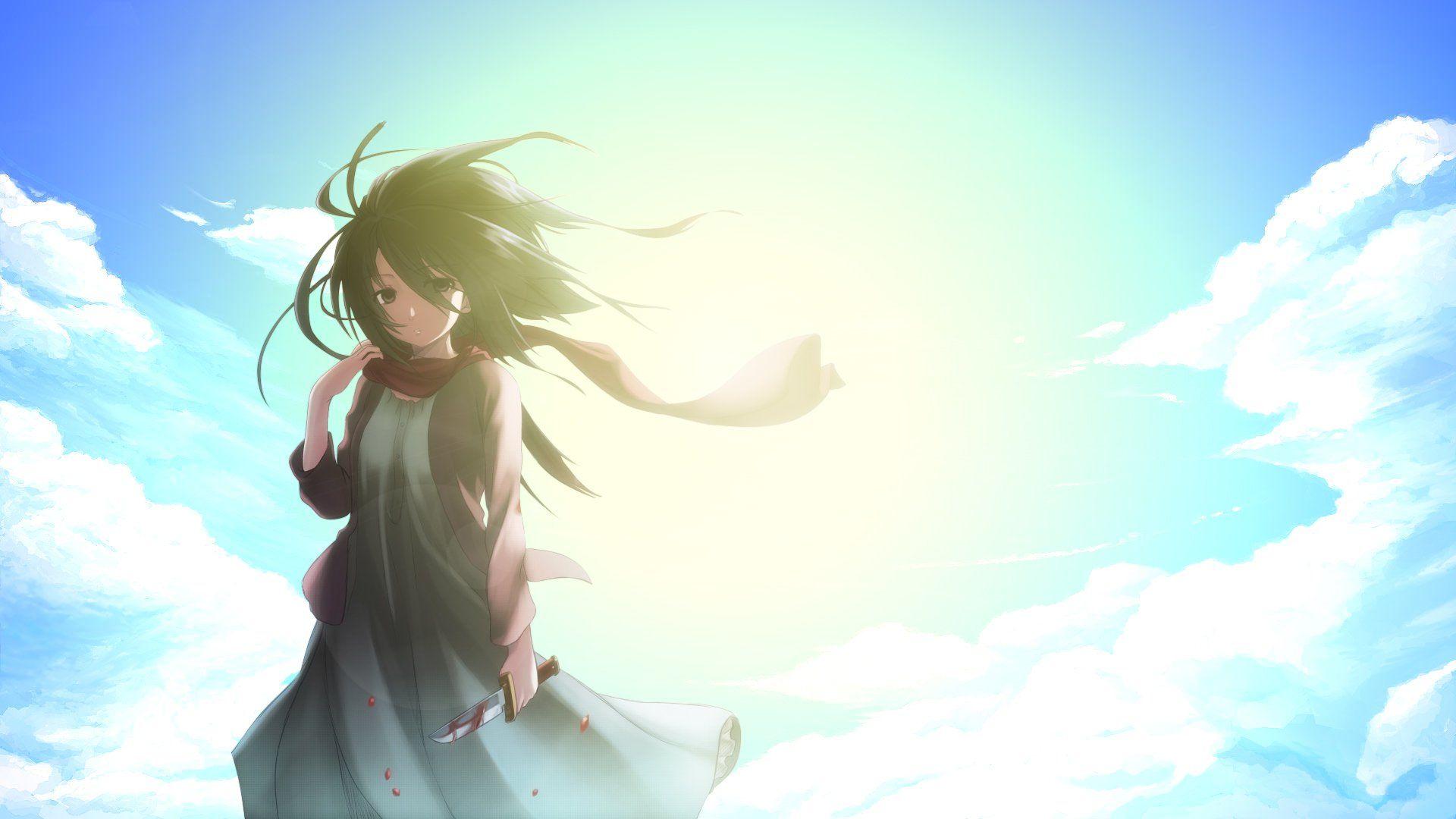 Anime Attack On Titan Shingeki No Kyojin Mikasa Ackerman Wallpaper