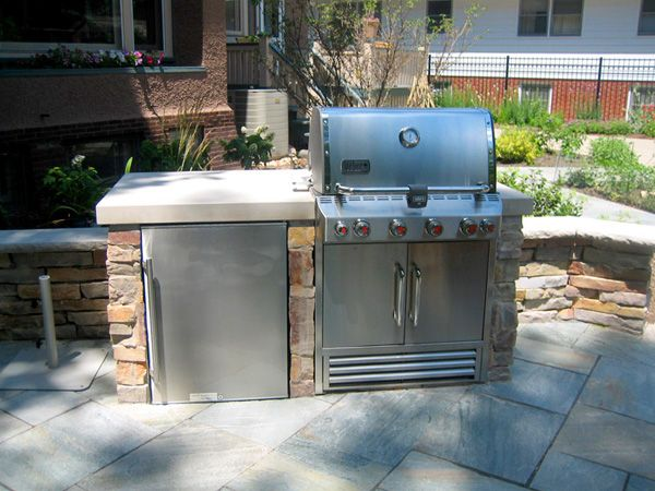 Chicago Grill Enclosure Examples, Ideas Suggestions - 3D ...
