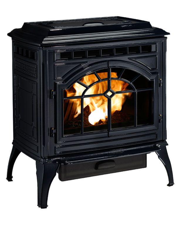 Quadra Fire Mt Vernon E2 Pellet Stove Porcelain Dark
