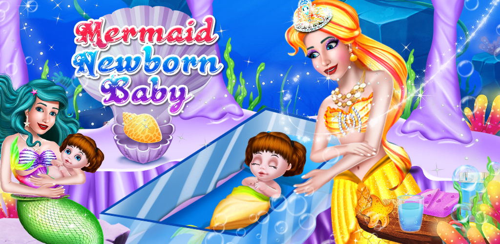 Play the role of Mermaid mommy & start taking care of