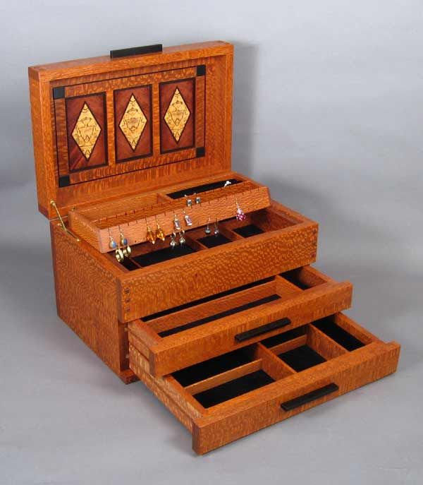 arts and crafts jewelry box details Boxes Pinterest Box Craft