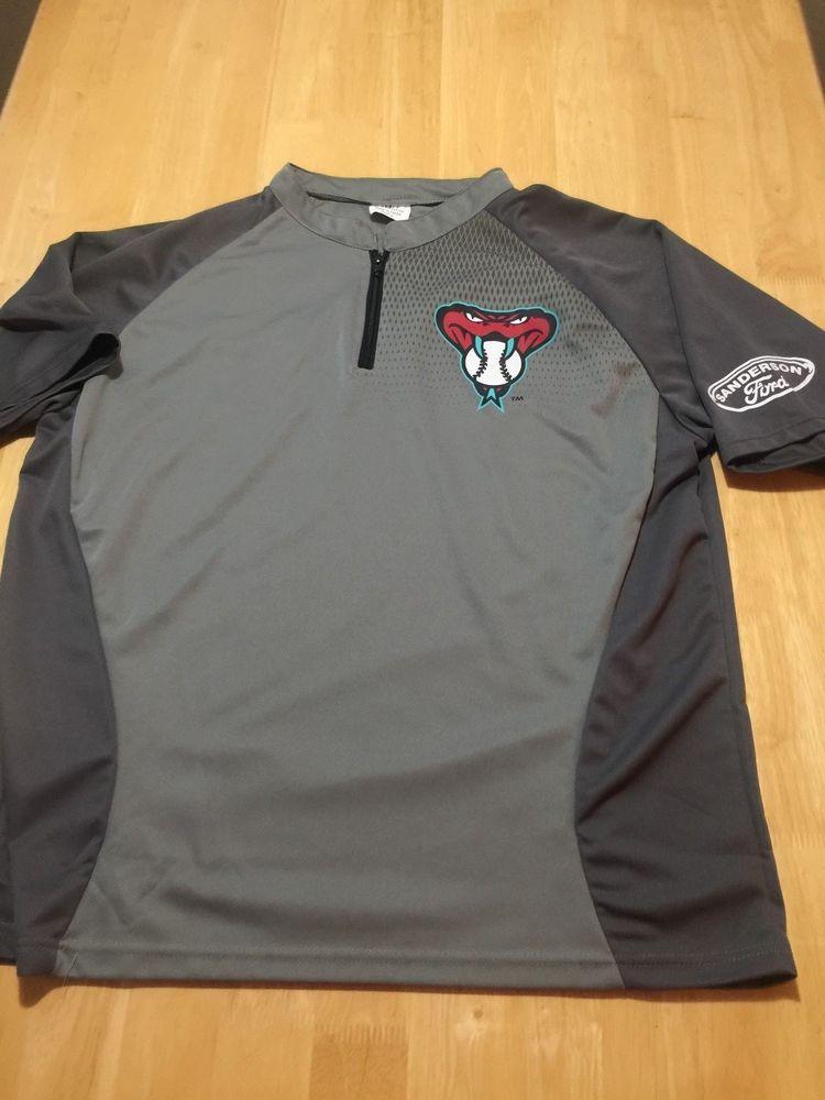 Arizona Diamondbacks Dbacks MLB Baseball Size XL SGA Pullover Warm Up Jersey!    25.00 End Date  Thursday Jan-17-2019 9 38 00 PST Buy It Now… b8b3e3d84