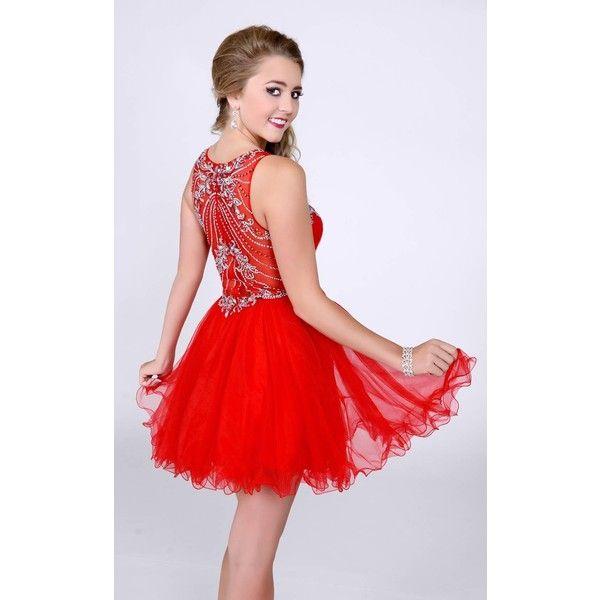 Envious Couture 16024 Bat Mitzvah Dress Mini High Neckline ...
