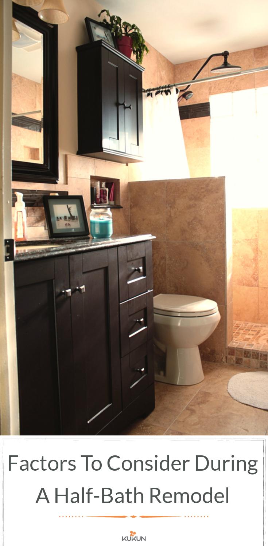 Factors To Consider During A Half Bath Remodel Small Half
