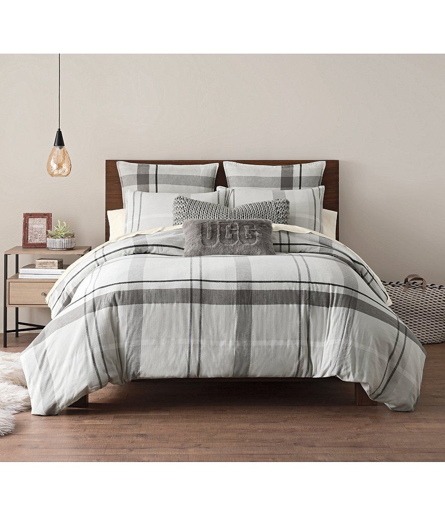 Color Stone Image 1 Ugg Winter Plaid Flannel Duvet Plaid Comforter Flannel Duvet Flannel Bedding