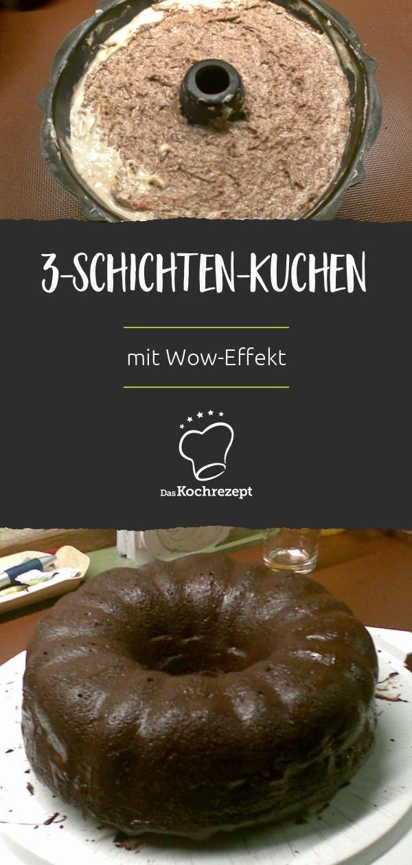 Schoko-Napfkuchen mit Kirschen