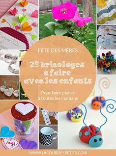25 idées de cadeaux faits maison pour la fête des mères | Fete des meres, Bricolage fête des ...