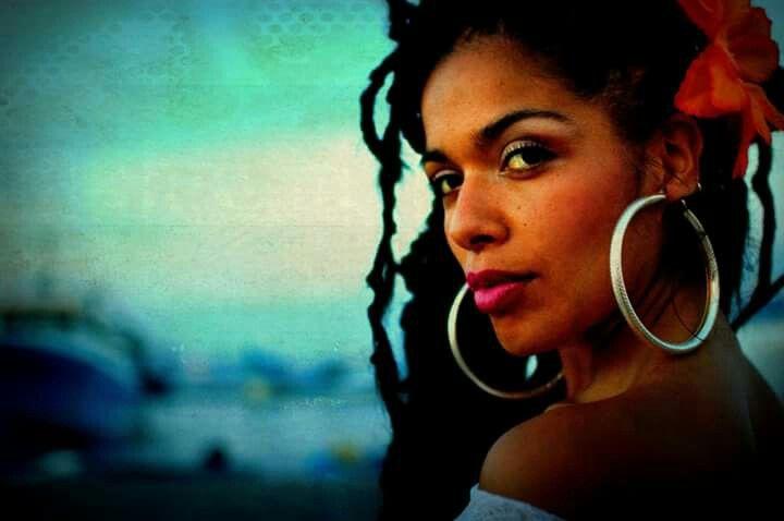Moyenei Valdes. ...Afro Chilean singer Morenita La Milagrosa