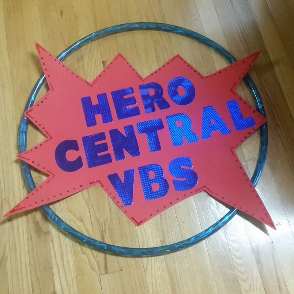 A great decoration idea from a leader in vbs land an idea for Hero central vbs crafts