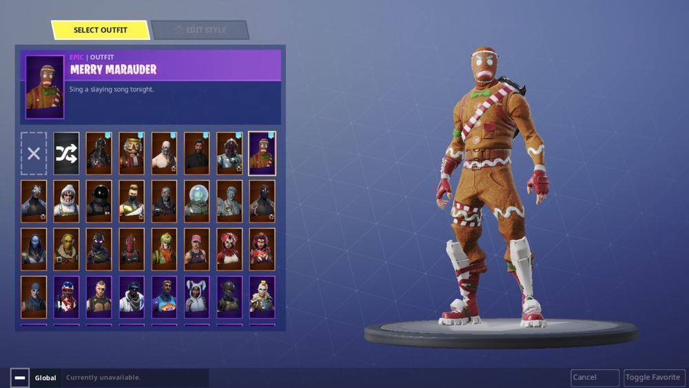 3701b58e37e032 Rare  Fortnite Account With Christmas Skins