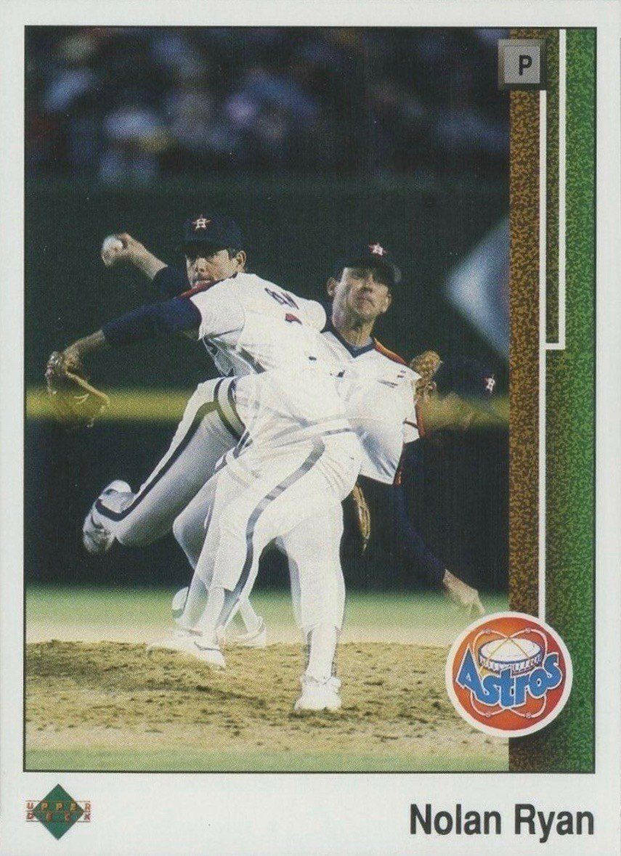 1989 upper deck 145 nolan ryan baseball card in 2020