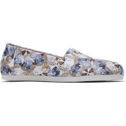 Toms Schuhe Blaue Canvas Schmetterling Classics Für Damen – Größe 37.5 TomsToms