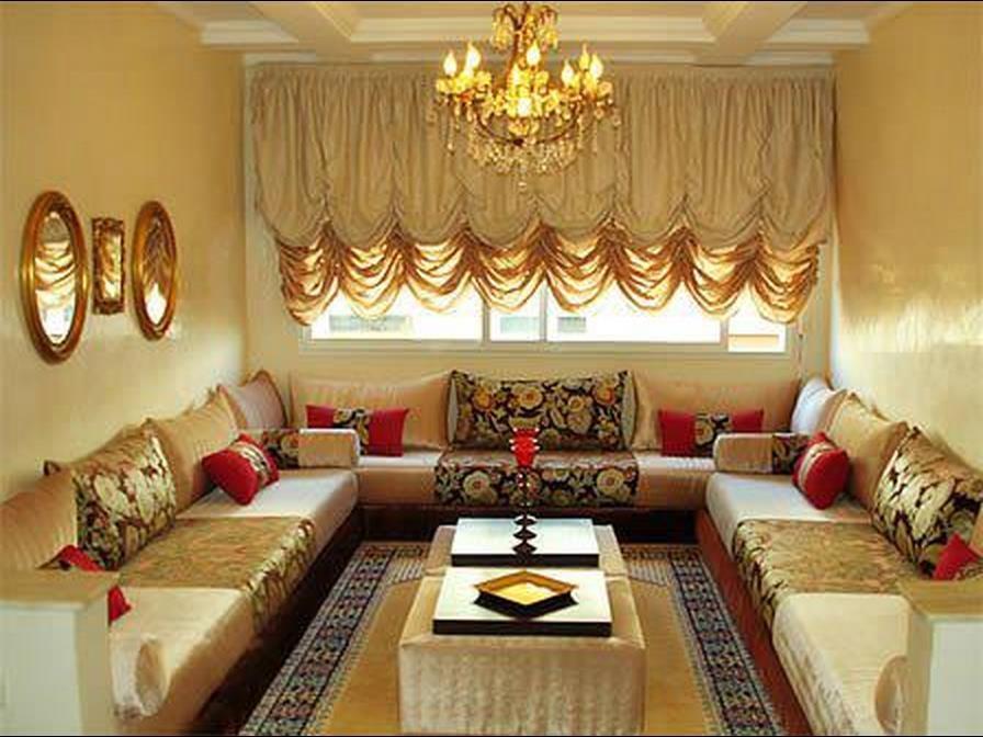 A Moroccan Living Room.