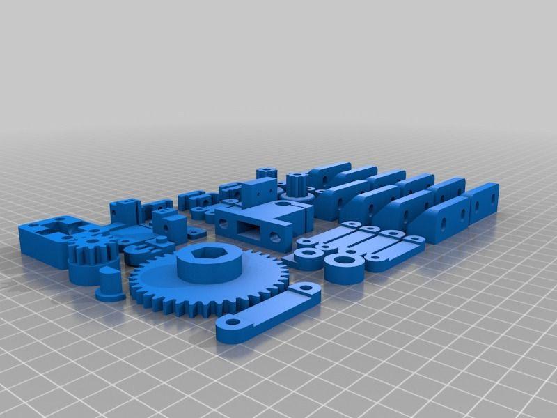 Complete Mendel90 parts set by AKAMEDIASYSTEM