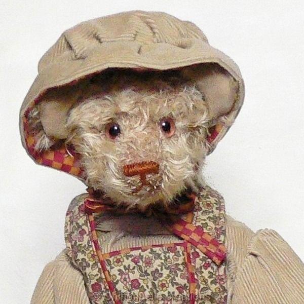 Ours d'artiste poupée de salon Chiffonnelle décoration collection : Accessoires de maison par chiffonnelle