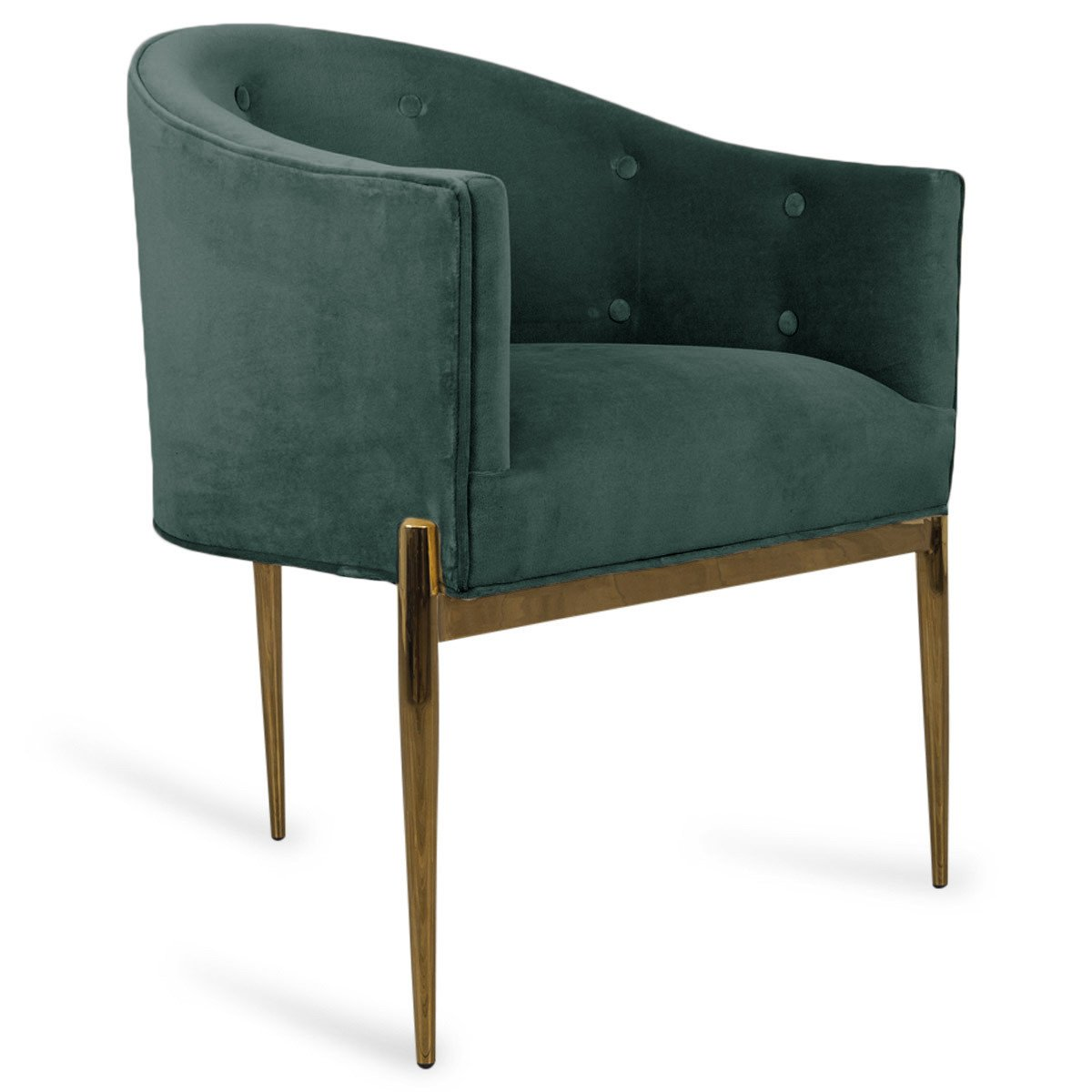 Outstanding Art Deco Dining Chair In Velvet Dining Chairs Upholstered Creativecarmelina Interior Chair Design Creativecarmelinacom