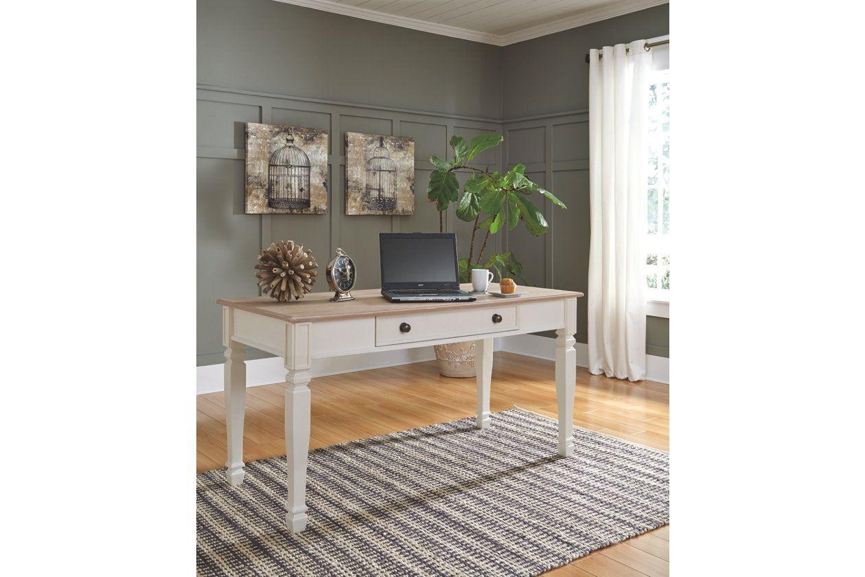 "Sarvanny 60"" Home Office Desk Ashley Furniture HomeStore"