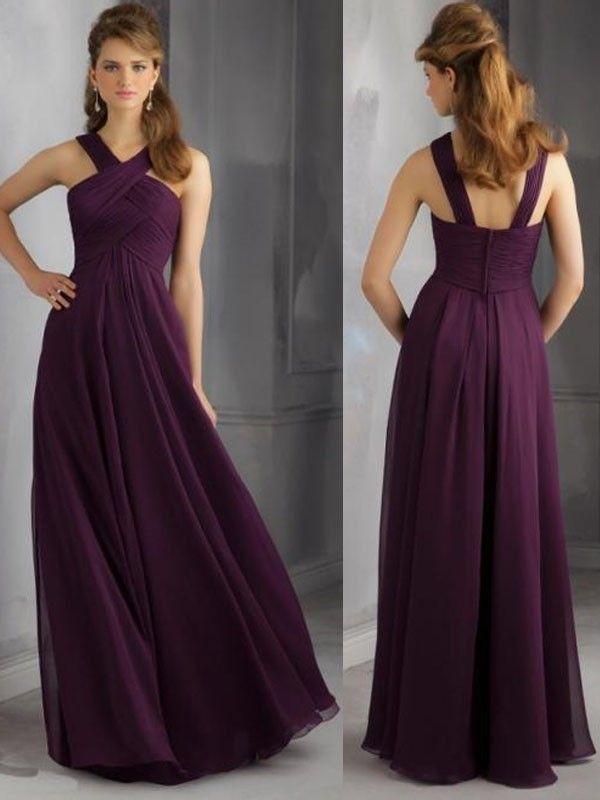 Hitapr Long Purple Bridesmaid Dresses 25 Purpledresses