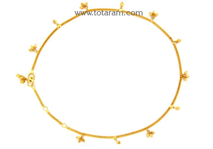 22k Gold Baby Waist Chain Gold Jewelry Stores Gold Jewelry Gift 22k Gold Jewelry