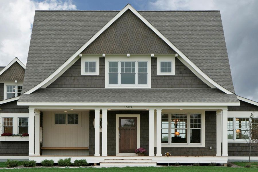 Cape Cod House Design Ideas Part - 43: Cape Cod Shingle Style - Traditional - Exterior - Minneapolis - By Ron  Brenner Architects