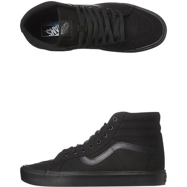 Vans Mens Sk8 Hi Lite Plus Shoe ($110) ❤ liked on Polyvore