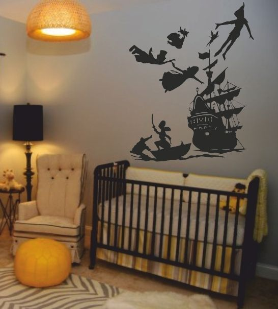 This will definitely be in my future child\'s room! Peter Pan Wall ...