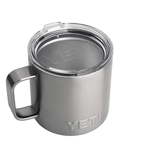Gifts for Men! YETI Rambler 14 oz Stainless