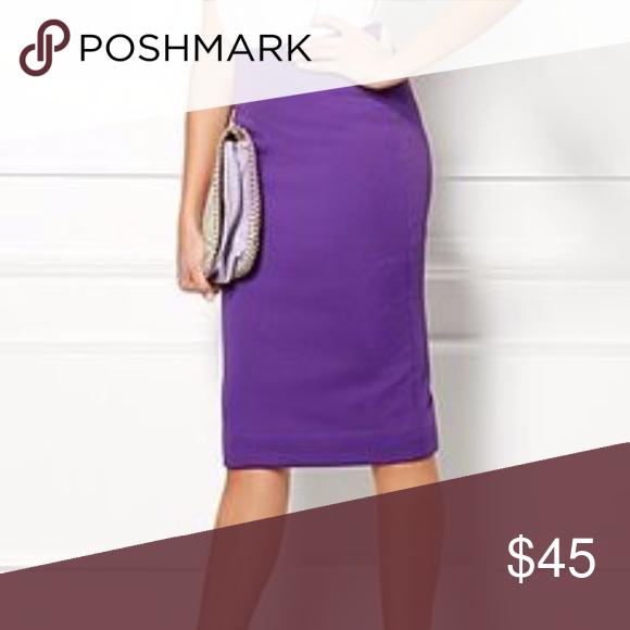ac17cb7183 Eva mendes purple skirt