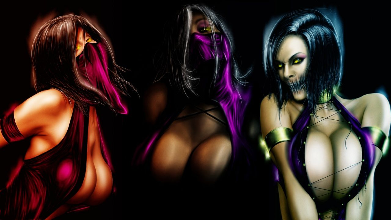 mortal kombat mileena boobs porn