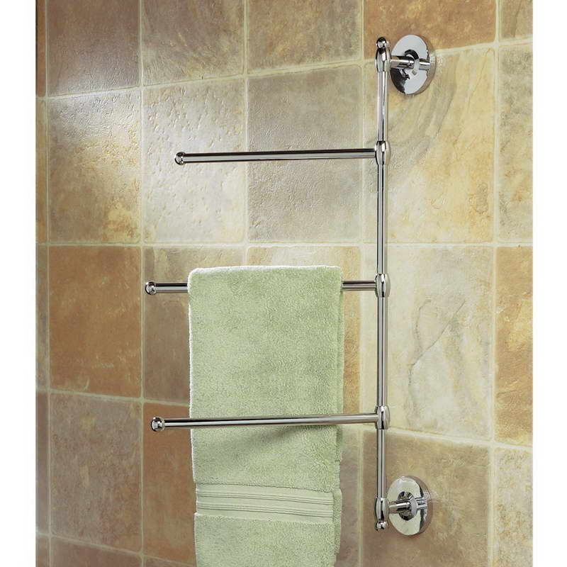 Space Saver Ideas Space Saver Wall Mounted Towel Racks For Bathrooms With Wall Tiles Image Id 46065 Towel Rack Bathroom Hand Towel Holder Towel Rack Bathroom