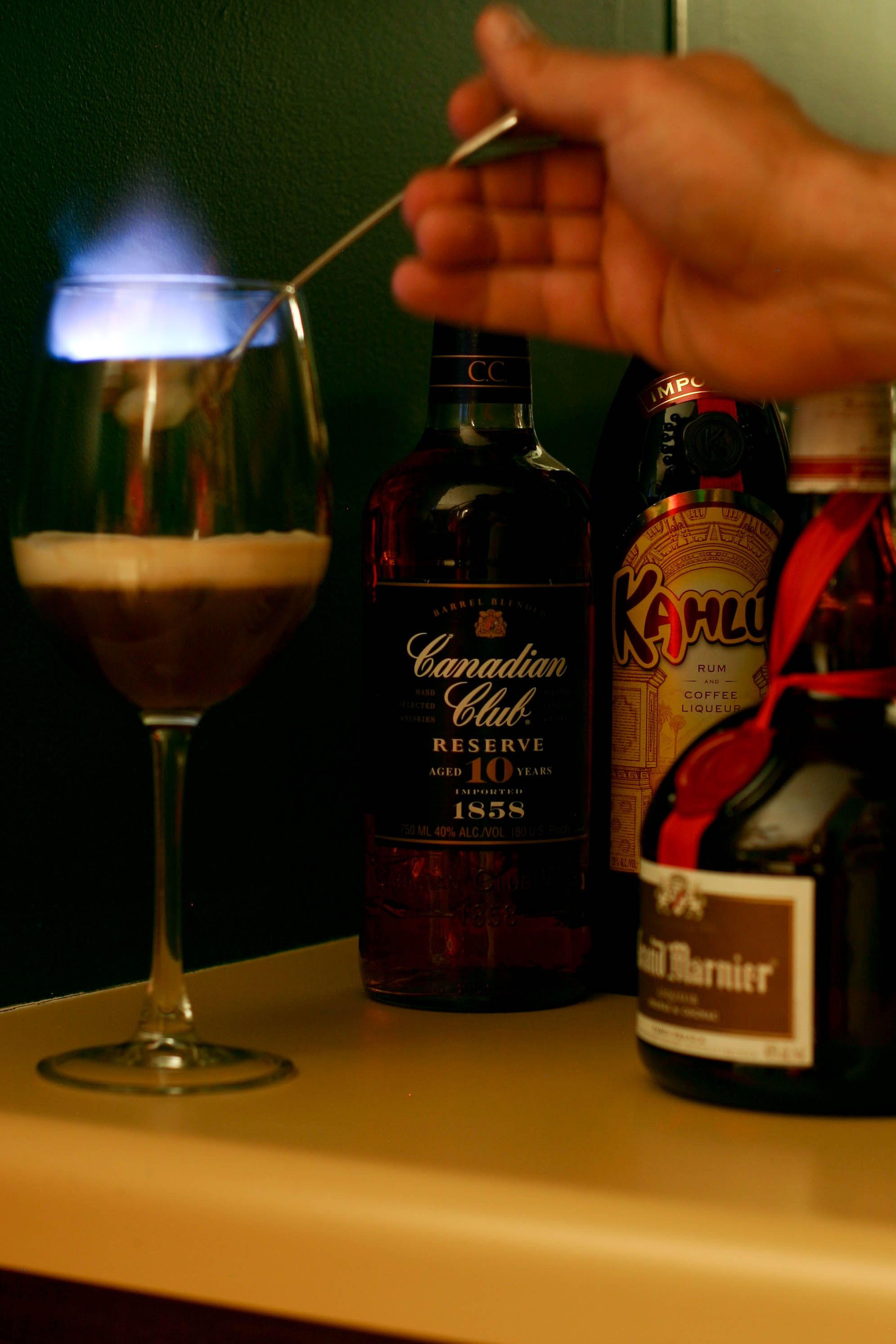 All fired up grand marnier fun drinks after dinner drinks